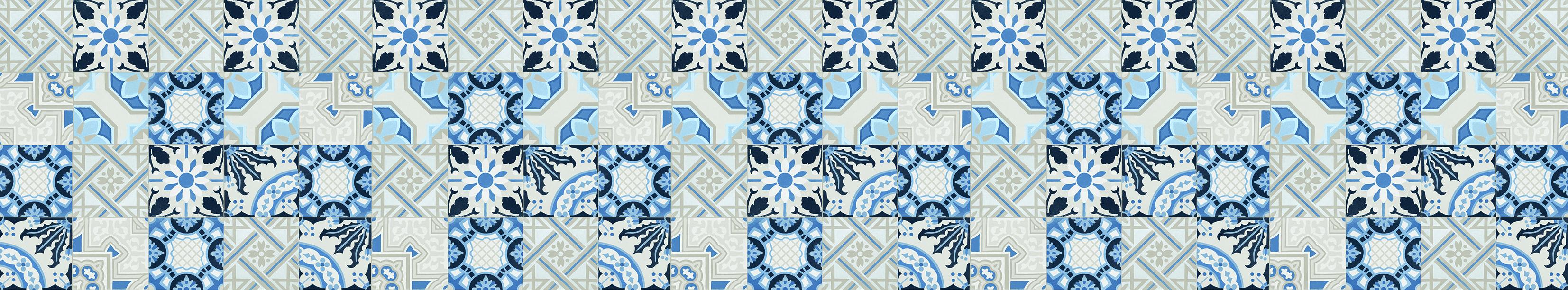 522_Dekor_Floral blau